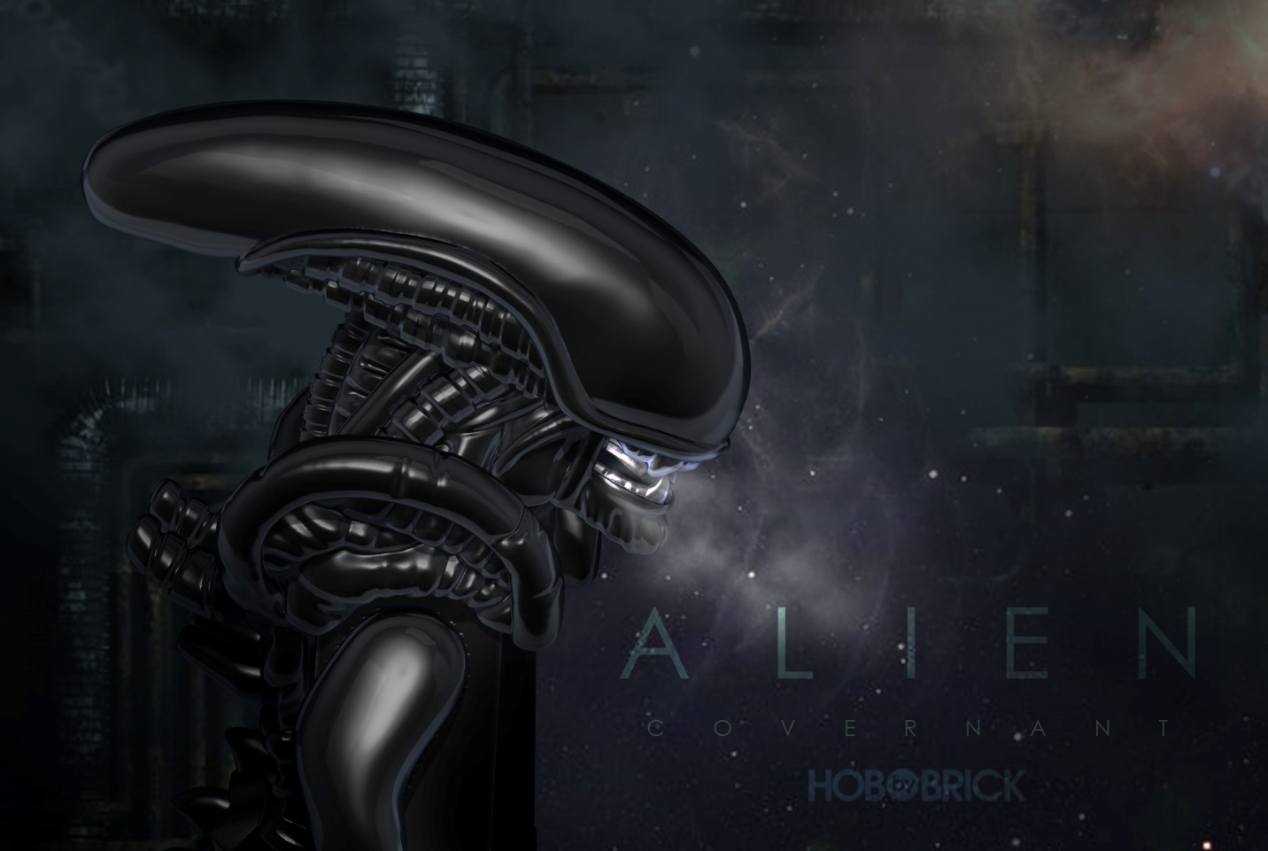 xenomorph from the movie Alien